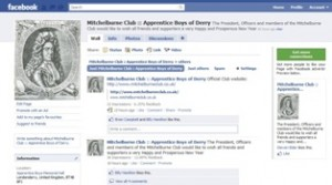 Mitchelburne Club now on Facebook